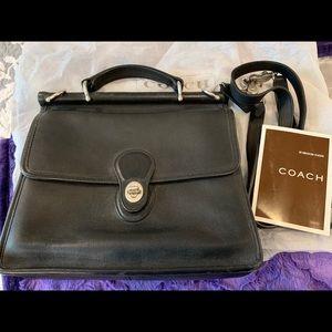 Coach black Willis bag with shoulder strap